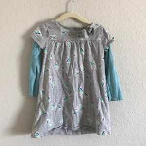 Old navy Long Sleeve Butterfly top